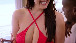 BLACKED Angela White enourmous tits are perfect for bbc