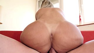 Superb rimming and hot anal with busty Latina Mia Linz