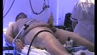 Cock milking with robojac milking machine