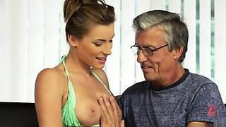 Old mom fuck young girl and creepy step dad xxx Sex with her