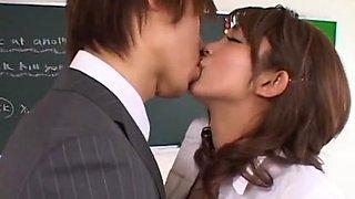 Horny Japanese chick Karin Honjyo in Crazy JAV scene