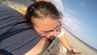 a la plage avec un voyeur pas discret :d