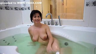 Amateur Cutie Banged Within The Toilet