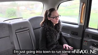 fake taxi is the best place for orgasms
