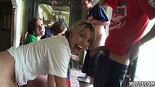 Titillating Soccer Fans / Aliha, Esmi