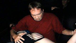 Lactating Stripper Slut Public Group Sex