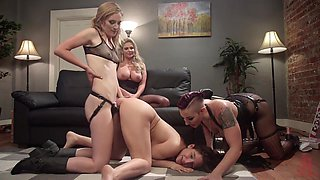 Mistress Kara & Daisy Ducati & Dee Williams & Cherry Torn & Abella Danger in Decadent Dyke Bar Delights: A Classic & Creamy Whipped Ass Compilation - KINK