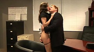 Samantha Ryan drilled by her boss