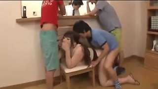 Sons abuse stepmom in law