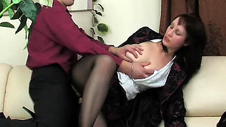 Amateur hardcore sex video girl in blcak lingerie