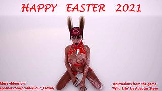 Wild Life Easter Bunny Bukkake