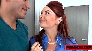 Milf Janet Mason give cute teen Alex Tanner a sex lesson