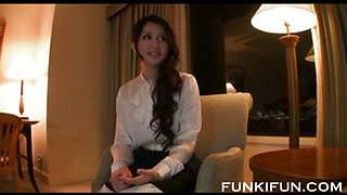25 yearl old japanese married woman fucks on webcam