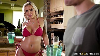 Brazzers - Nina Elle - Mommy Got Boobs