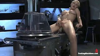 a breath taking fucking machines scene with a hot blonde