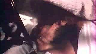 Retro homemade video of my dad getting some head in the car