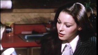 Retro porn movie with 80s style sex