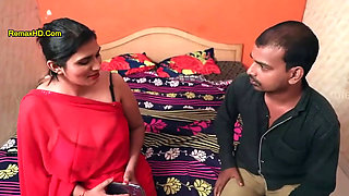 Indian Web Series Lucky Servant Fucks Both Mother and Daughter