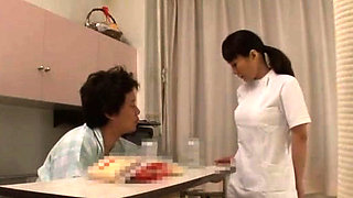 Avid scenes of coarse porn with a taut japanese nurse
