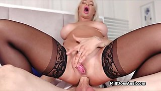 This wife wants studs cock in her ass