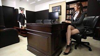 Best Japanese chick Yui Tatsumi in Amazing Secretary JAV video