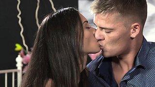 DaneJones Romantic sex with beautiful petite Ukranian