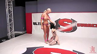 brutal sex wrestling with busty london river