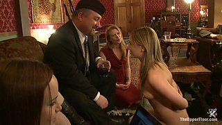 Cherry Torn & Bella Rossi & Jessie Cox & Mark Davis in Jessie Cox's Training Review - TheUpperFloor