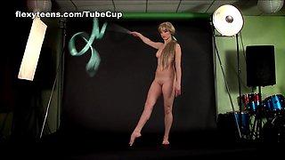 Anna Nebaskowa - Gymnastic Video part 1