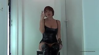 Smoking german mistress