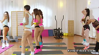 prisoner bangs busty tattooed girl fitness