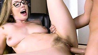 Busty Teacher Lena Paul Gets Bonked And Creamed