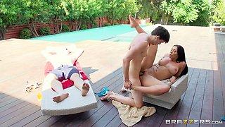 milf rachel starr cheats on her boyfriend with his son