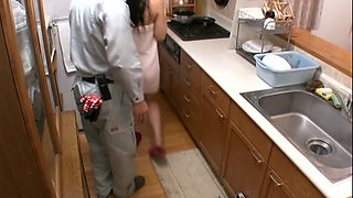 Married Woman Who Came With Only Bath Towel 3