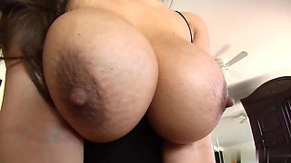 Cum load on big tits of latina Yurizan Beltran
