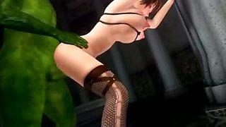 Big ass 3d girl in hentai porno