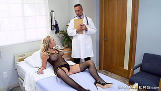 sucking the doctor's cock