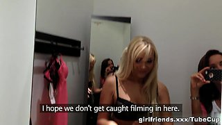 pick up straight girl flashing in public first time lesbian