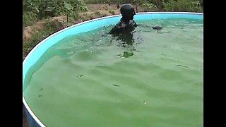 Latex Outdoor Pool