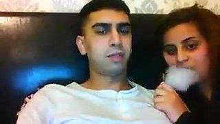 Arab Look Like Couple - Webcam