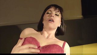 Glamour euro babe deeply drilled by her lover