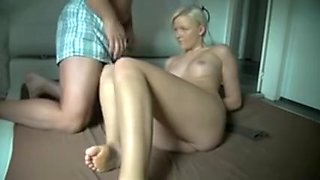 Russian bitch anal homemade bondage