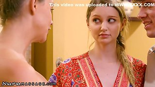 Rion King, Bunny Colby And Chanel Preston - Helps Young Couple Loosen Up