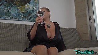 Vivian Blush - Big Tits Naked Ass Spy Cam!