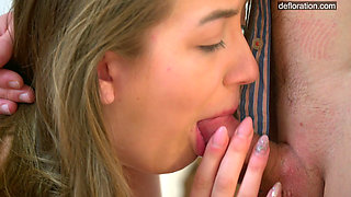 Teen Nevet Nikolet Titty With Shaved Cunt Losing Her Virginity