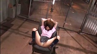 Rio Hamasaki in School Girl Vibrator 2