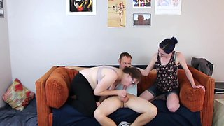 B/G/G step-brother impregnation That's What Family is For