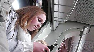 Hidden cam in the train