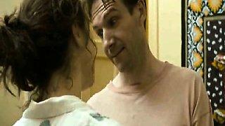 Rachel Weisz pregnant as she takes a bath and a guy films