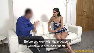 Coco Kiss & James Brossman in Stunning German given porn lesson - FakeAgent